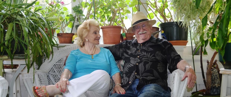 Image: Brian Latimer's grandparents, Roberto and Rosita Latimer