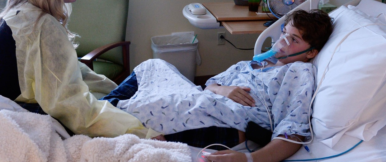 Image: 13-year-old Will Cornejo is recovering from what doctors suspect is the respiratory virus,  human enterovirus 68 that has come to Colorado.