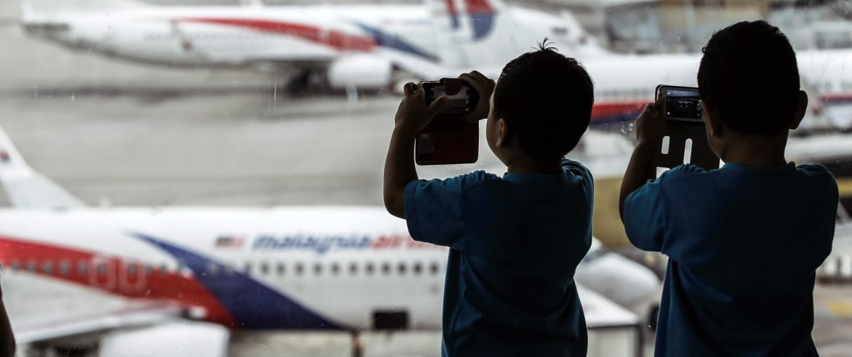Image: Malaysian Airline MH370 six month anniversary