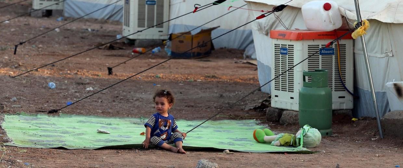 Image: Christian refugees in Erbil