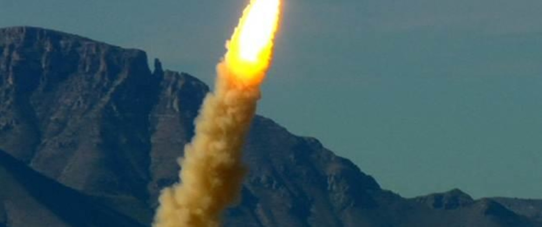 Image: Blue Origin test