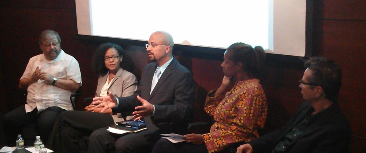 Image: Nicholas Jones of US Census Bureau addressing the Afro-Latino Panel