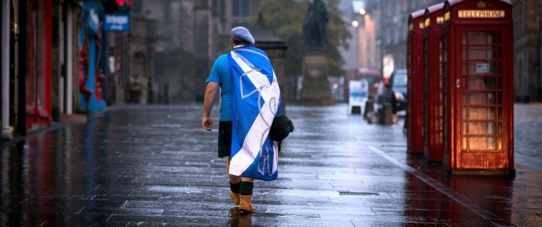 Image: Yes Supporters Dejected After Referendum - Edinburgh