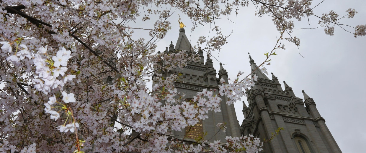 Image: Mormon Church Holds General Conference In Salt Lake City