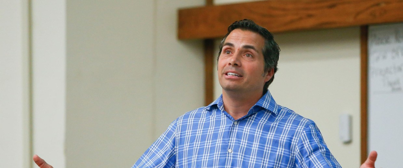 Image: Independent U.S. Senate candidate Greg Orman