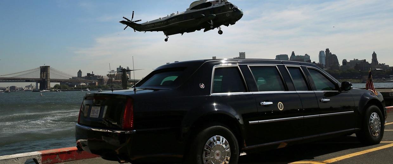 Image: Obama Arrives at UN