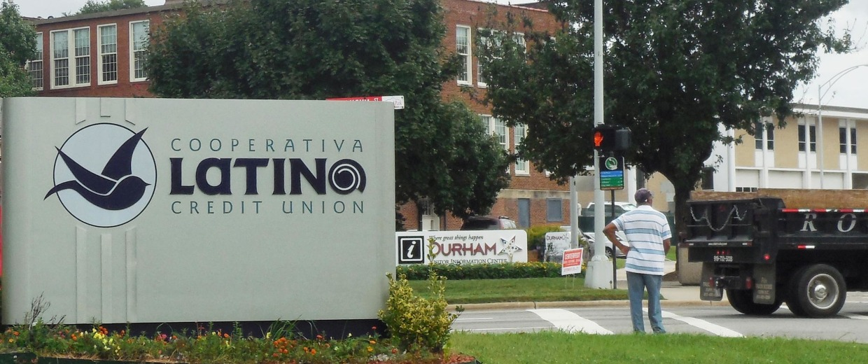 Image: A latino credit union in Durham, N.C.