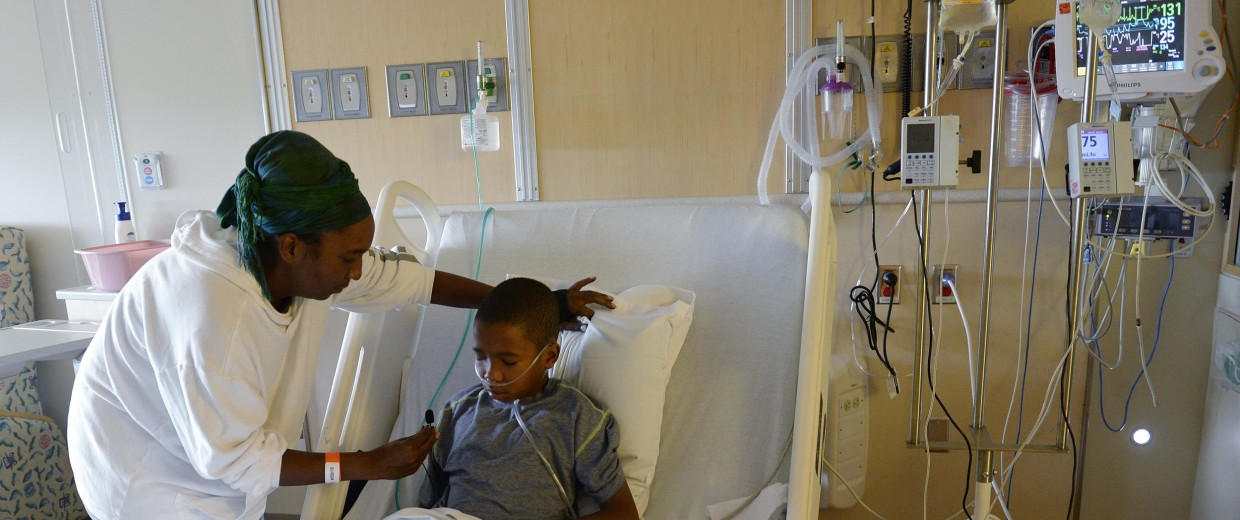 Children's Hospital Colorado is seeing a high number of respiratory illnesses. Many are the enterovirus 68.