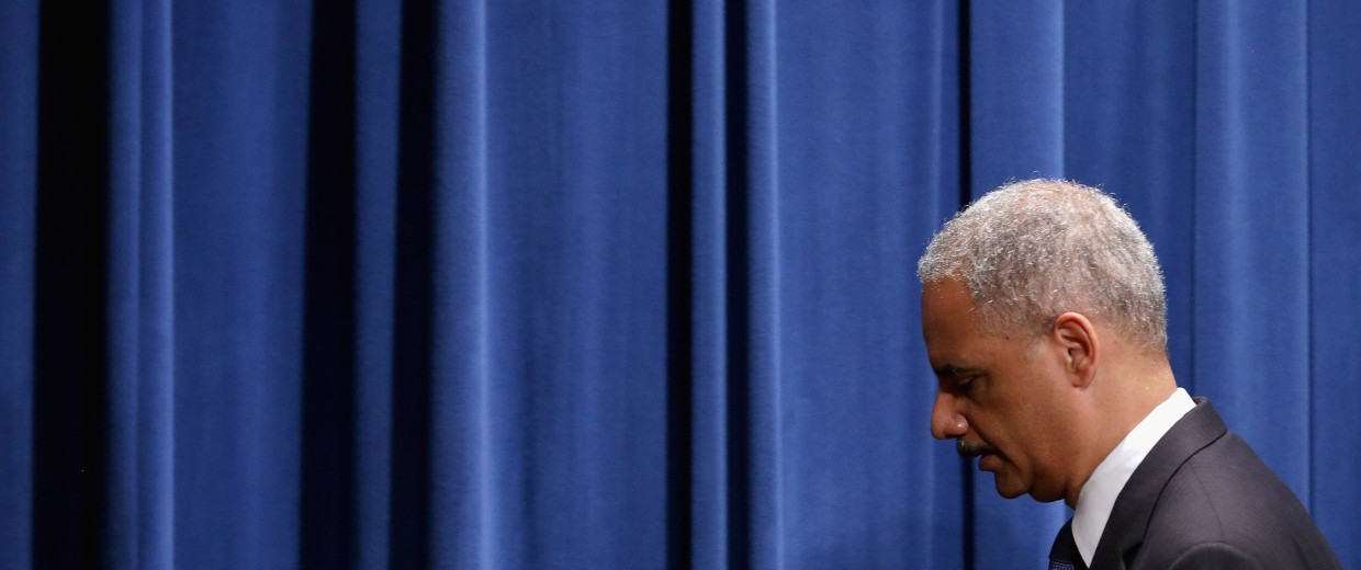 Image: FILE: Attorney General Eric Holder Resigns Attorney General Eric Holder Announces Civil Rights Investigation Into Michael Brown Death
