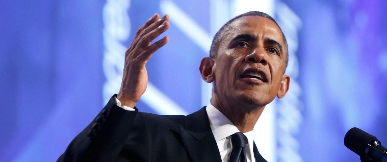 Image: U.S. President Barack Obama delivers remarks in Washington