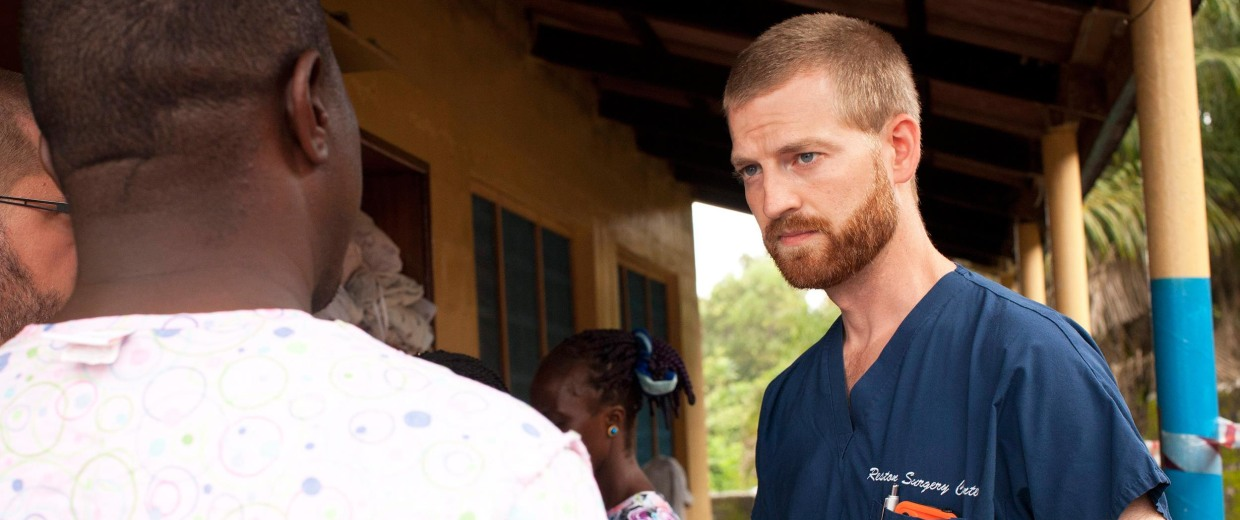 Image: Dr. Kent Brantly is suffering from Ebola in Africa and is being transported to the U.S. for care