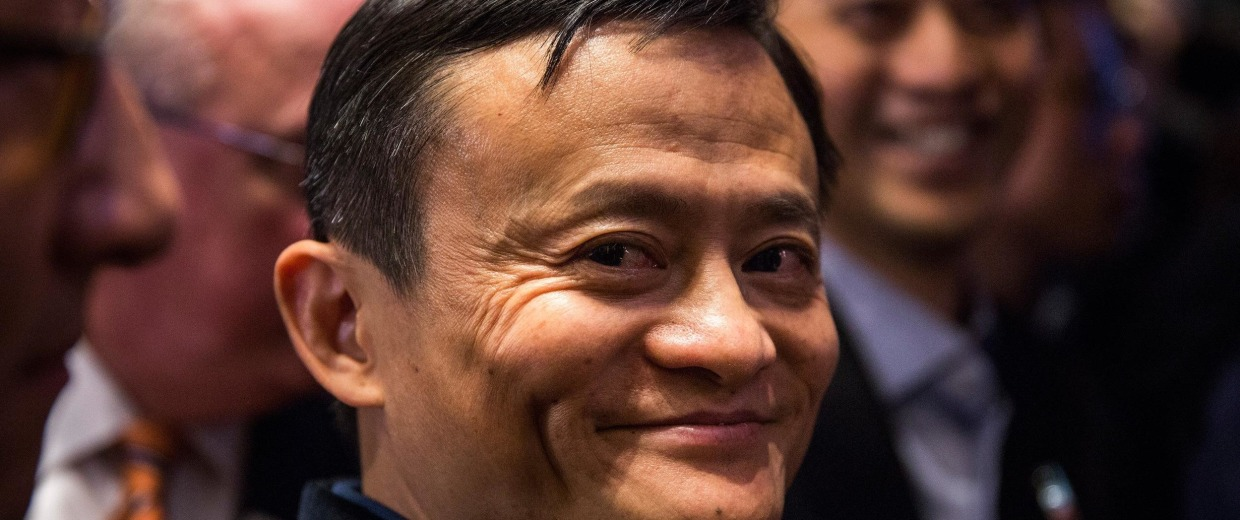 Alibaba's Jack Ma is now $2 billion poorer than he was last month. He's down to his last $23 billion.