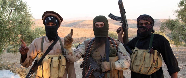 Image: ISIS Rebel Militant Soldiers
