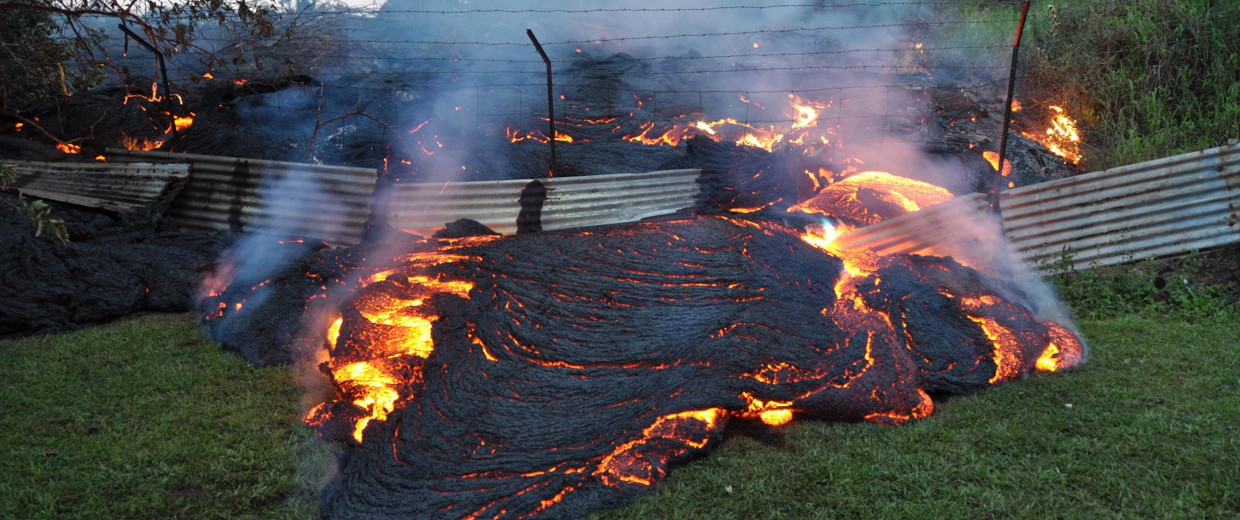 Image: Hawaii Lava Flow Threatens Dozens Of Homes