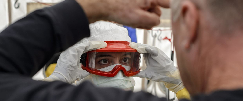 Image: Ebola Worker