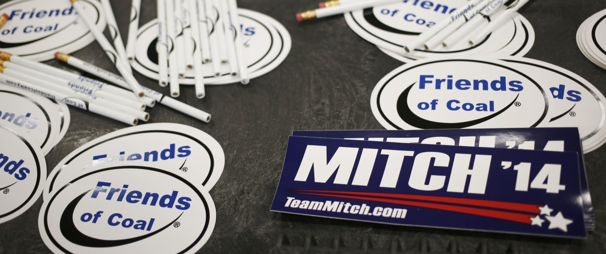 Image: Mitch McConnell Campaigns Across Kentucky As Midterm Election Nears