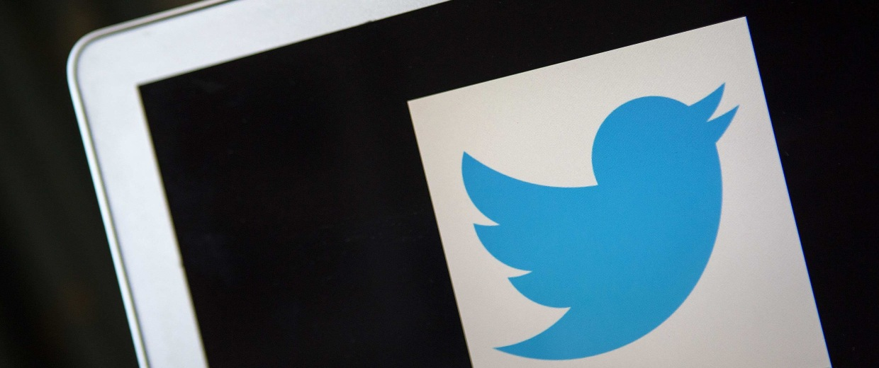 Image: A portrait of the Twitter logo in Ventura in this file photo