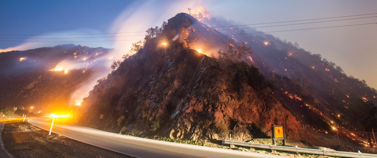 Image: California wild fire