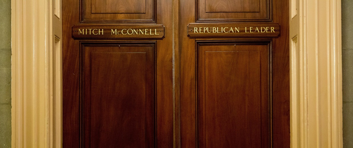 Image: Republicans Take Control Of Senate After Midterm Elections