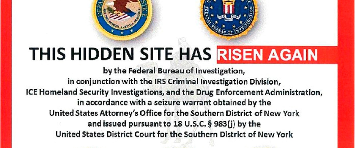 Image: The alleged homepage to Silk Road 2.0 seen in a DOJ criminal complaint