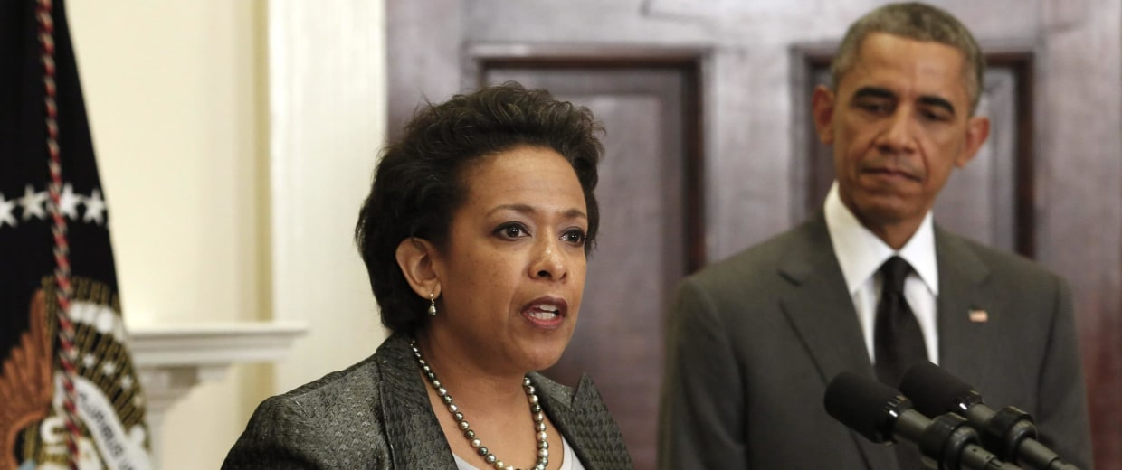 Image: President Barack Obama names Loretta Lynch as U.S. Attorney General nominee