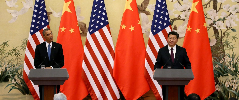 Image: US President Barack Obama press conference in China