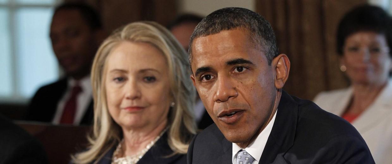 Barack Obama, Hillary Rodham Clinton