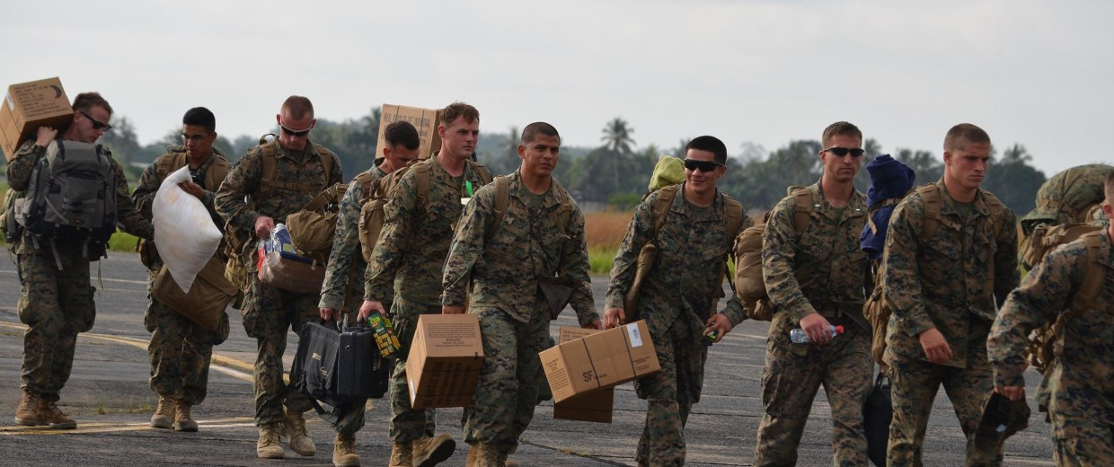 Image: More U.S. troops arrive in Liberia to fight Ebola