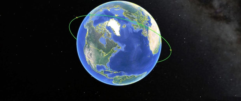 Image: Cosmos-2498 orbit