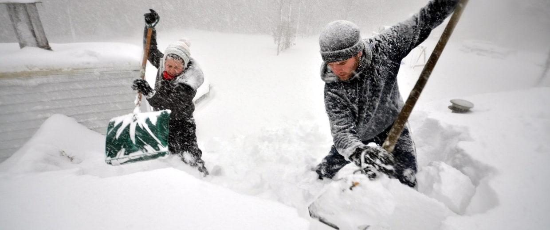 Image: ***BESTPIX*** Record Snowstorm Pummels Buffalo