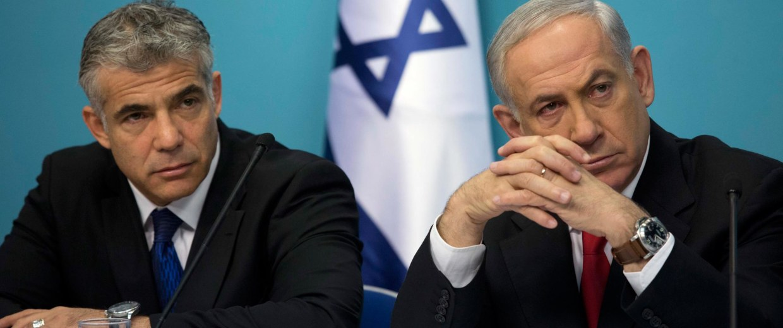 Image: Israel coalition crisis