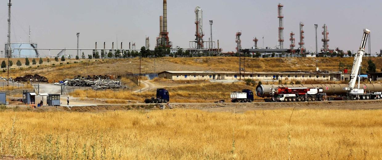 Image: Kurdish Oil Field
