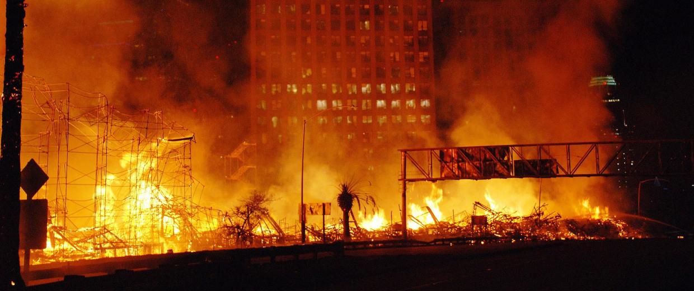 Los Angeles Apartment Building Fire
