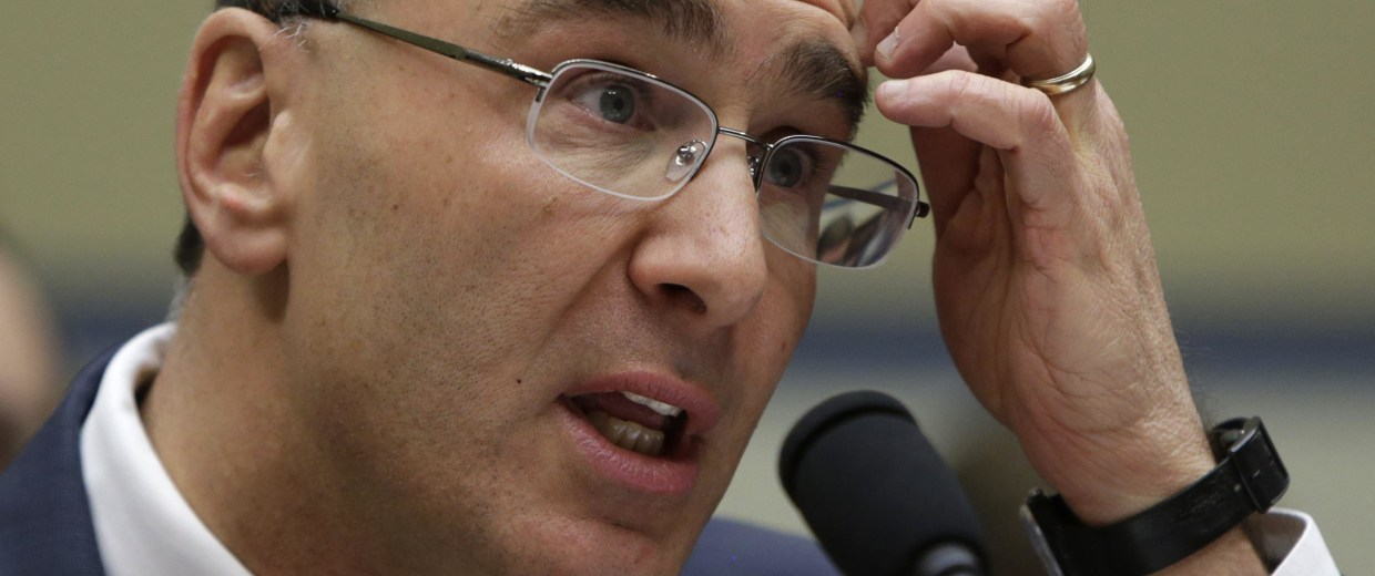 Image: Obamacare consultant Jonathan Gruber testifies before a U.S. House Oversight and Government Reform hearing in Washington