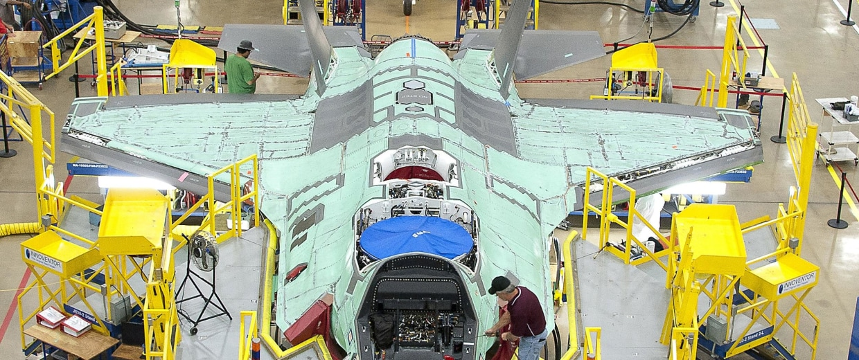 The F-35's long road to deployment has hit another snag.