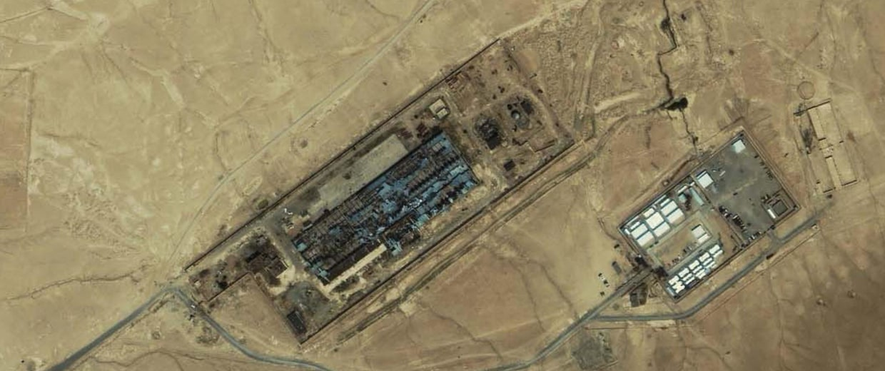 Satellite image of Detention Site Cobalt near Kabul