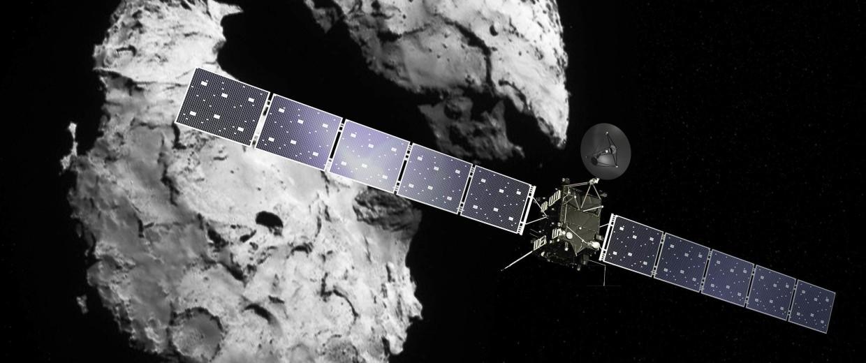 Image: Rosetta and comet