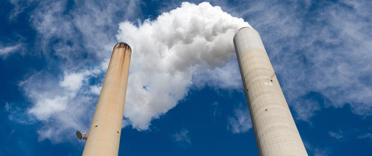 Image: Smoke stacks