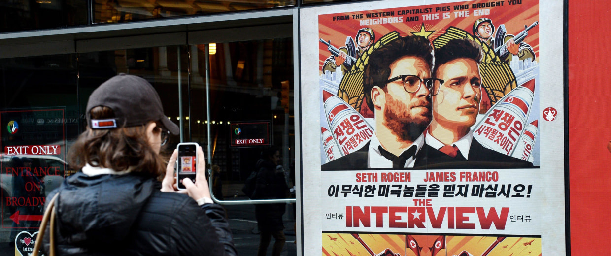 Image: Sony Pictures drops release of 'The Interview'