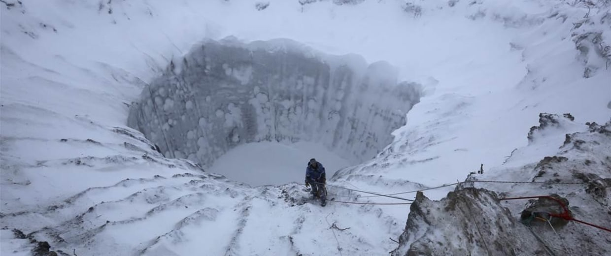 Image: Siberian crater