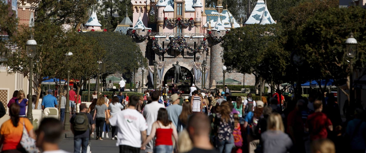 Inside Walt Disney Co.'s Disneyland Park Ahead Of Earnings Figures