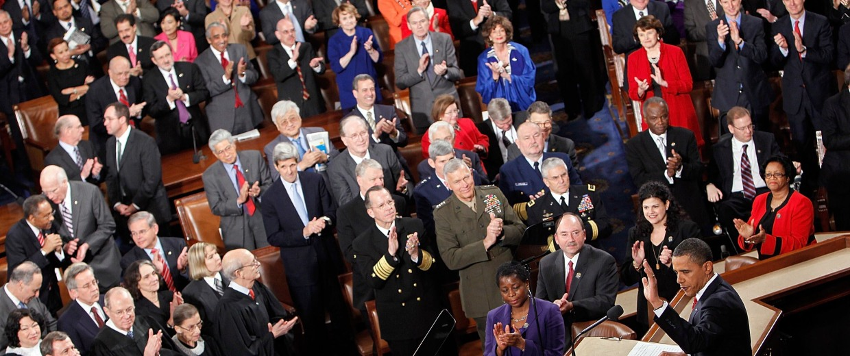 Image: President Obama Delivers State Of The Union Address