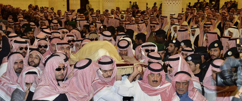 Image: Saudi Arabia's King Abdullah