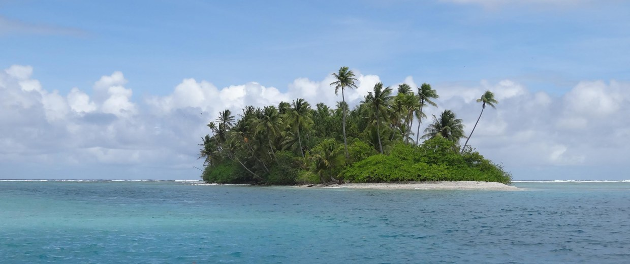 Image: Jose Salvador Alvarenga first came ashore on this island, part of the Marshall Island chain.