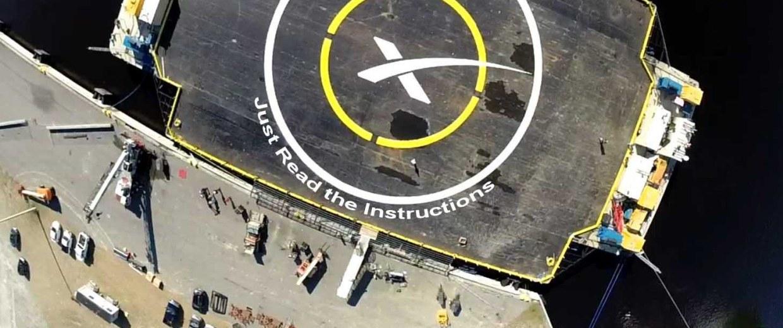 Image: Drone ship