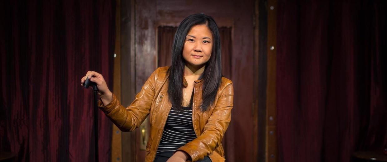 Image:Comedian Jenny Yang
