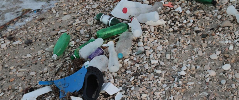 Image: Plastic on beach