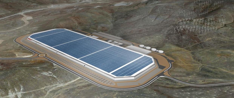 Image: Tesla Gigafactory