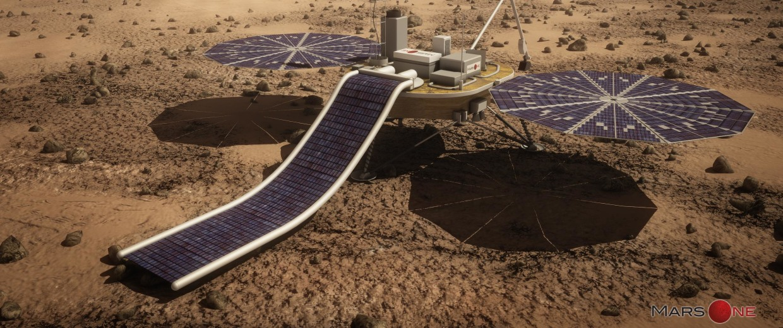 Image: Mars lander