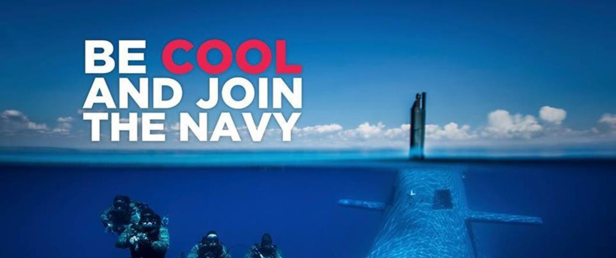 Be Cool Italian Navy Recruitment Campaign Prompts